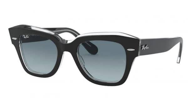 RAYBAN 2186 coloris noircristal verres G15 165E