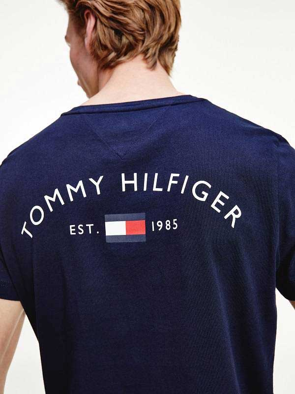 tshirt tommy hilfiger back