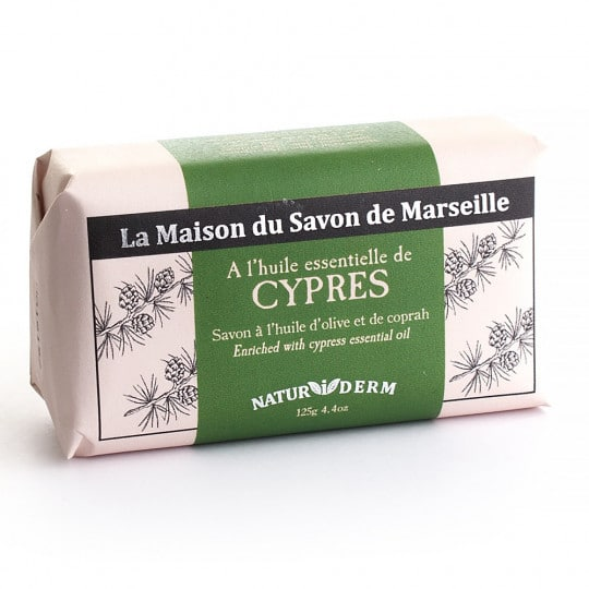 savon 125gr naturiderm cypres