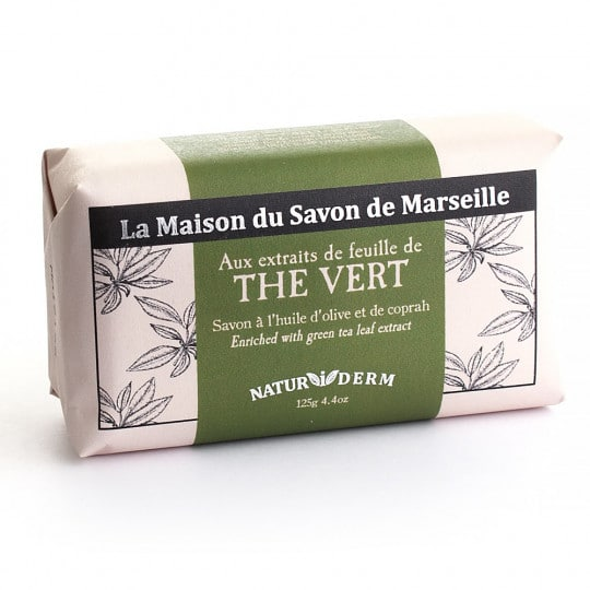 savon 125gr naturiderm the vert