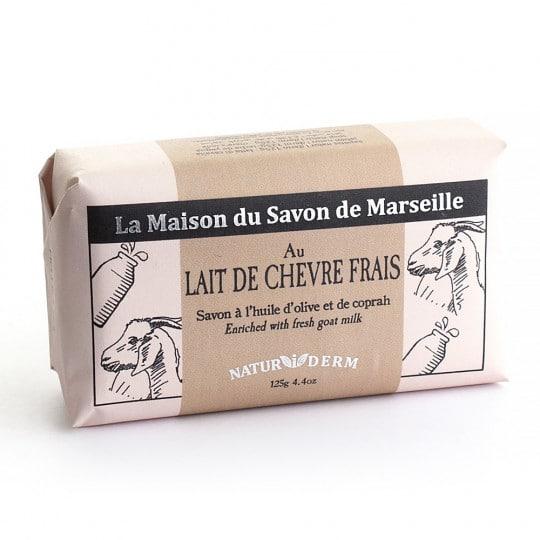 savon 125gr naturiderm lait de chevre