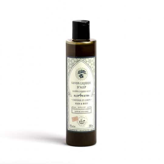 savon d alep liquide a l huile de laurier 250ml