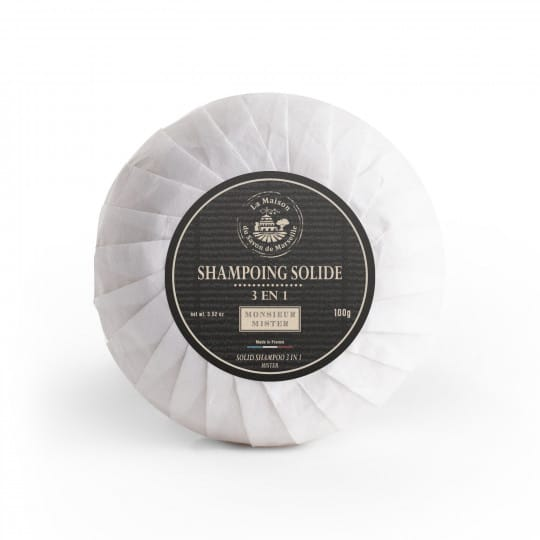 shampoing solide 100g mister