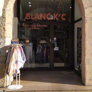 Blanc KC Linge de maison à Villefranche-sur-saône