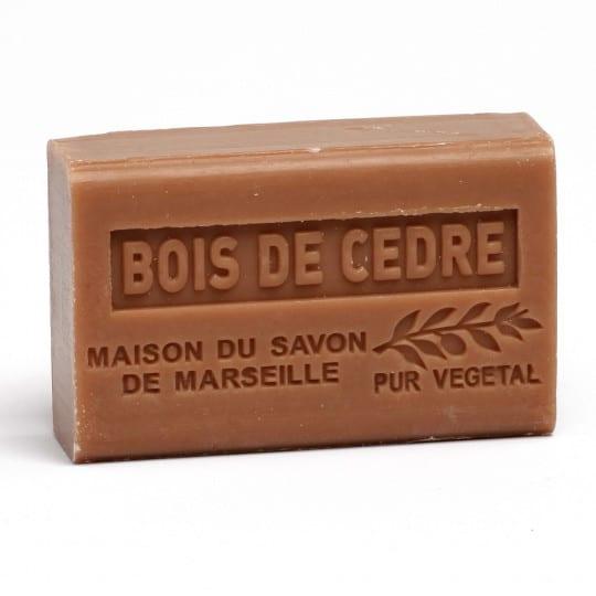 savon 125gr au beurre de karite bio bois de cedre