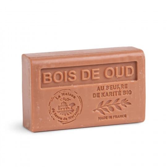 savon 125gr au beurre de karite bio bois de oud