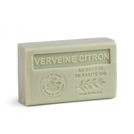 savon 125gr au beurre de karite bio citron verveine 1
