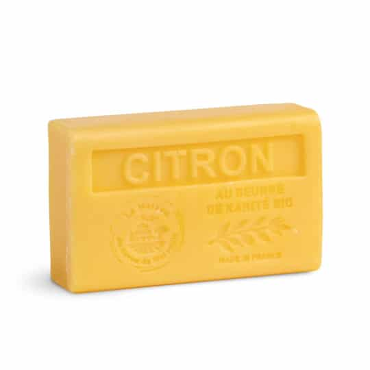 savon 125gr au beurre de karite bio citron