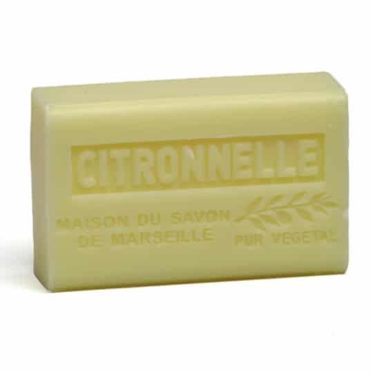 savon 125gr au beurre de karite bio citronnelle
