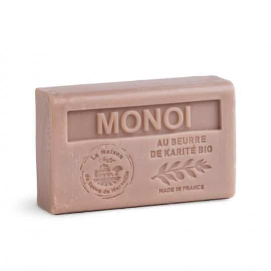 savon 125gr au beurre de karite bio monoi