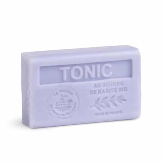 savon 125gr au beurre de karite bio tonic